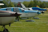 Cessna 172's — Stock Photo