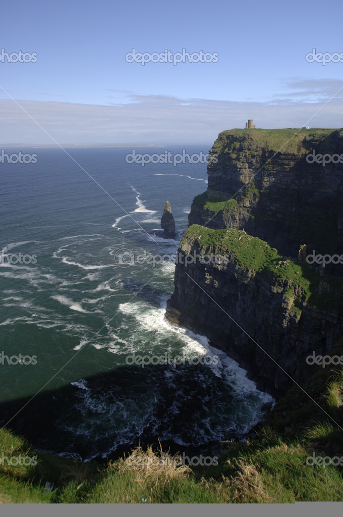 Cliffs of Moher, Lisdoonvarna, Co. Clare, Ireland — Stock Photo #2296409
