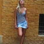 Gorgeous Fashion Model posing — Stock Photo #2486947
