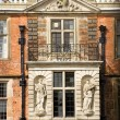 Mansion statues — Stockfoto