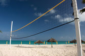 Beach volley ball ney — Stock Photo
