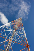 Comms mast — Stock Photo