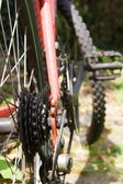 Bike gears — Stock Photo