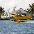 Seaplane take off — Stock Photo