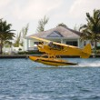 Seaplane take off - Stock Photo