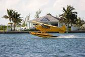 Seaplane take off — Stock Photo