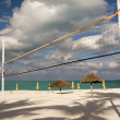 Stock Photo: Beach volley ball