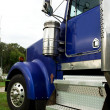 Blue truck cab — Stock Photo #2079923