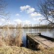 Stock Photo: Fishing dock