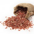 Stock Photo: Red rice