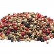 Stock Photo: Mixed peppercorns