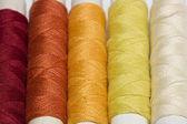Cotton threads — Stock Photo