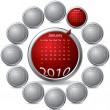 Royalty-Free Stock Vector Image: Cool rotating calendar
