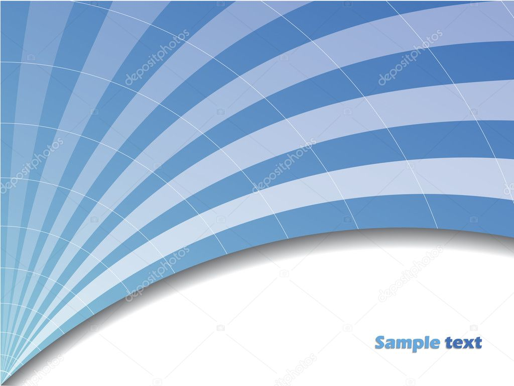 Blue arch like background — Stock Vector #2572761