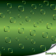 Royalty-Free Stock Vector Image: Green bubbles