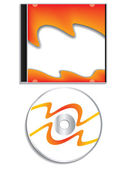 Cd with case — Stock Vector