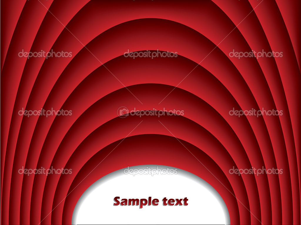 Cool red arch background — Stock Vector #2581943