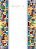 Multicolor background — Stock Vector