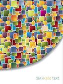Multicolor brochure — Stock Vector