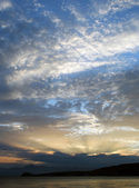 Um pôr do sol em kamchatka 2. — Fotografia Stock