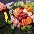 Sushi party tray — Stockfoto