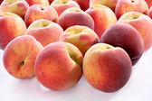 Peach isolated on the white background — Stock Photo