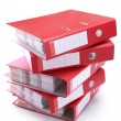 Stock Photo: Office folders