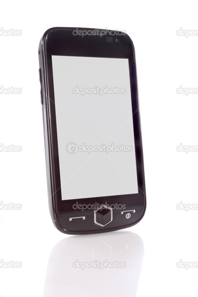 Mobile telephone is isolated on a white background — Stock Photo #2492760