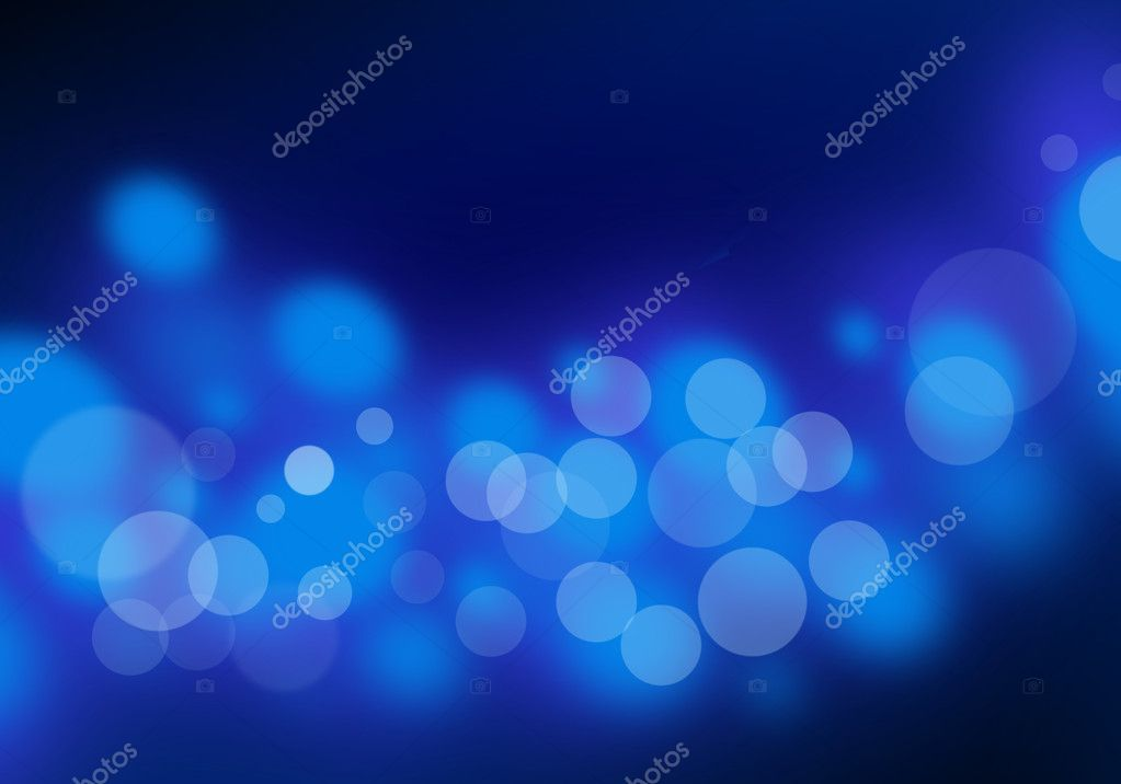 Abstract blue light blend composition, blue background  Lizenzfreies Foto #2492775