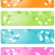 Stock Vector: Floral background, vector illustration