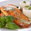 Salmon fillet — Photo