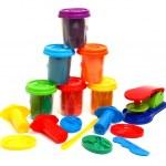 Colors plasticine — Stock Photo