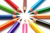 Colors pencils — Stock Photo