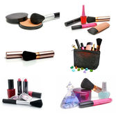 Group cosmetics — Stock Photo