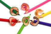 Tužky a holení — Stock fotografie