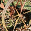 Stock Photo: Old farm equipment