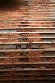 Caterpillar tracks — Foto Stock