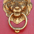 Stock Photo: Brass lion