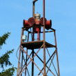 Stockfoto: Old fire house siren