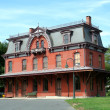Stock Photo: Old railroad station