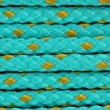 Blue cord background macro — Stock Photo