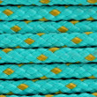 Stock Photo: Blue cord background macro