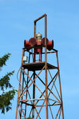 Old fire house siren — Stock Photo