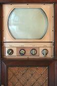 Vintage tv set — Stock Photo