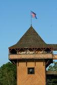 Vieux fort en bois — Photo