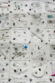 Climbing wall background image — Stock Photo