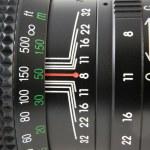 Camera lens macro — Stock Photo