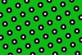 Green polka dots background — Stock Photo