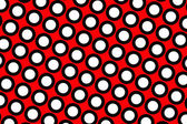 Red polka dots background — Stock Photo