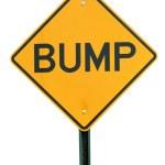 Bump Sign — Stock Photo